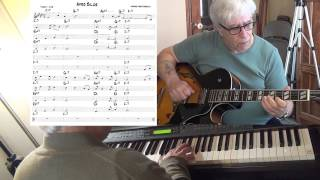 Afro Blue - jazz guitar & piano cover ( Mongo Santamaria ) Yvan Jacques