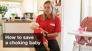 Baby First Aid: How to save a choking baby