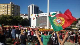 2016-07-11 - Hino Nacional - Portugal Campeão Europeu 2016 - Euro 2016