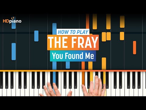 How To Play You Found Me By The Fray On Piano With Synthesia Hd