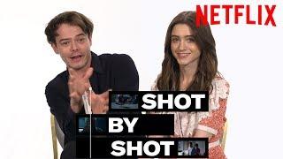 Stranger Things 3 Cast Charlie Heaton & Natalia Dyer Break Down a Scene   Shot by Shot   Netflix