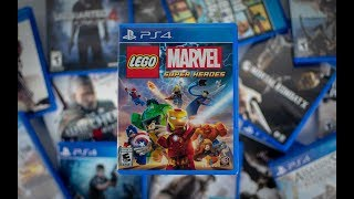 Lego Marvel Super Heroes PS4 Unboxing