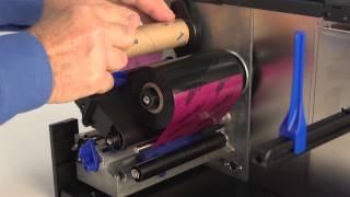 Printronix T2N Loading Ribbon