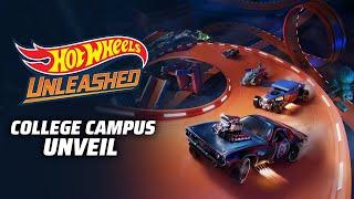 Hot Wheels Unleashed \'College Campus\' trailer, screenshots