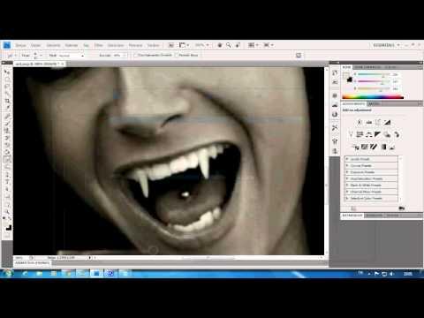 vampir Diş yapma