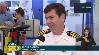 Ministério da Defesa participa de Feira de Drones