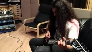 Cool Solo Harmonics with Sebastian Silva |Excruciator Vlog 5|