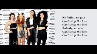 Neon Jungle - Can't Stop The Love ft. Snob Scrilla (Lyrics + Pictures)
