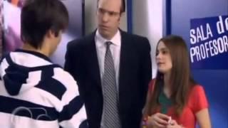 Violetta cap 6: Violeta se cruza con León