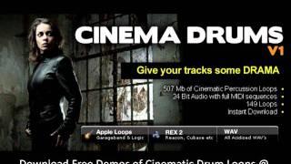 Cinematic Drum Samples - Cinema Drums V1