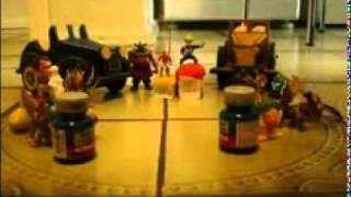Stop Motion com carrinhos (trabalho de escola) com efeitos sonoros