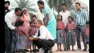 India: President Obama & Michelle Obama