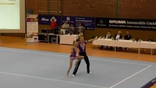 Sachsenpokal 2016   060   020   Mixed Pair   Junior 1   Balance   GER   SC Riesa SVH Kassel GER, Dan
