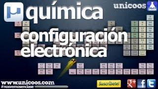 Imagen en miniatura para Configuración electrónica y números cuánticos. Moeller AUFBAU
