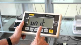 How to Reset Your UFM Bench Scale (Change lb to kg or other)