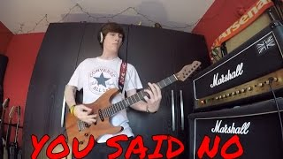 BUSTED You Said No - Guitar Cover