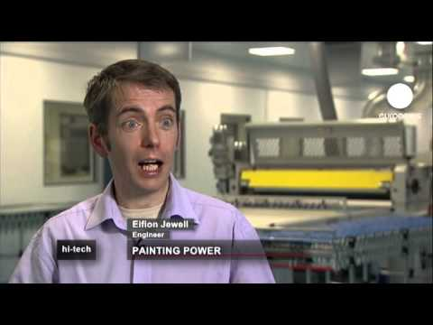 euronews hi-tech - İletken boya ile binalar elektrik üretebilecek