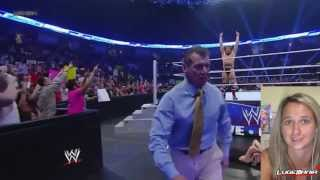 WWE Smackdown 8/16/13 Daniel Bryan vs Wade Barret NO DQ Live Commentary