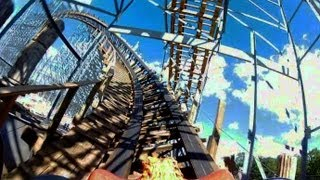 Hades 360 front seat on-ride HD POV Mt. Olympus Water & Theme Park