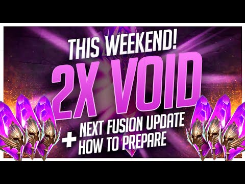 RAID | 2x Void THIS WEEKEND! | Fusion Soon + How to PREPARE!