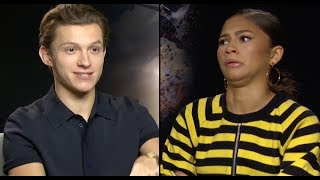 Tom Holland & Zendaya Reveal All Their Secrets In The 'PopBuzz Confession Booth'   PopBuzz Meets