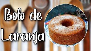 # 105 - Bolo de Laranja Inteira - Whole Orange Cake - Receita de Mão