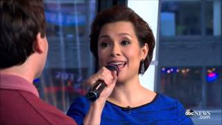 Brad Kane and Lea Salonga perform 'A Whole New World' after 23 years!