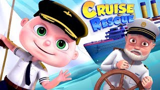 Zool Babies Series | Cruise Ship Rescue | Videogyan Kids Shows | Cartoon Animation For Children