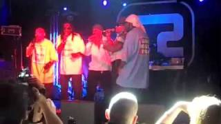 The Furious Five & Kurtis Blow - Superrappin' Intro @ The Concorde 2, Brighton