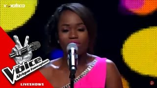 Pamela - Douceur | (The Voice Afrique francophone 2016 - GrandShow 1)