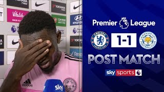 James Maddison praises an emotional Wilfred Ndidi after bouncing back from his costly mistake