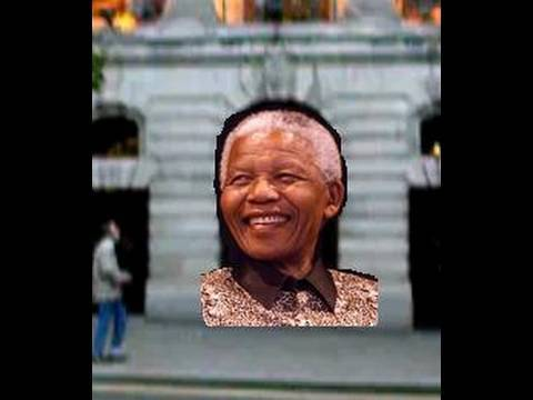 Nelson Mandela – world hero – South Africa House & Trafalgar Square