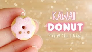 Easy Kawaii Donut│Polymer Clay Tutorial