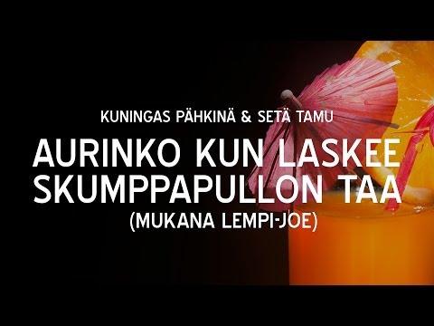 kuningas-pahkina-seta-tamu-aurinko-kun-laskee-skumppapullon-taa-mukana-lempi-joe-sundomgfunk