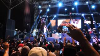 Bone Thugs N Harmony Feat. 2Pac live in Brasil - Thug Luv 09/05/2015