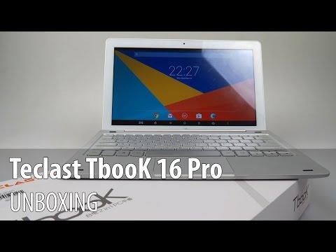 Teclast TbooK 16 Pro + Tastatură Unboxing în Limba Română