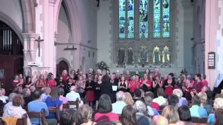 WeBop Choir sing Shackles by Mary Mary at St Luke's Church, Brighton.