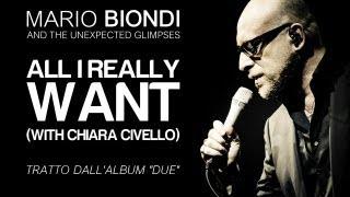 """Mario Biondi ft. Chiara Civello - All I Really Want - single estratto da """"Due"""""""