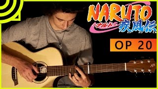 Naruto Shippuden Opening 20 - Kara no Kokoro (Fingerstyle Guitar Cover by Albert Gyorfi) [+TABS]