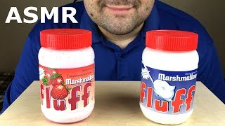 ASMR MARSHMALLOW FLUFF (Soft Eating Sounds) NO TALKING