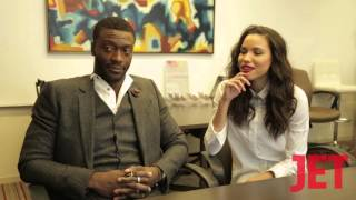 Underground Stars Aldis Hodge and Jurnee Smollett-Bell Discuss What They Learned About Former Slaves