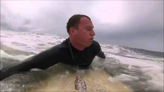 GoPro Hero 3 silver: Black friday 2013 in OB/cliff surf session