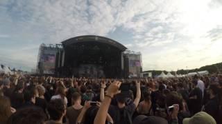 Amon Amarth - Death in Fire - Download Festival Paris 2016