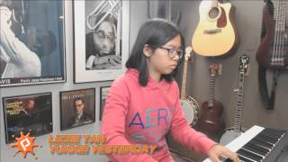 Yuukei Yesterday piano cover by Lizzie Tan
