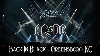 AC/DC - Back In Black - Greensboro NC