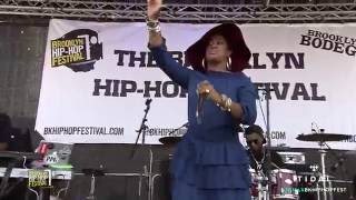 "Rapsody ""Black Live Matters"" at 12th Annual Brooklyn Hip-Hop Festival"