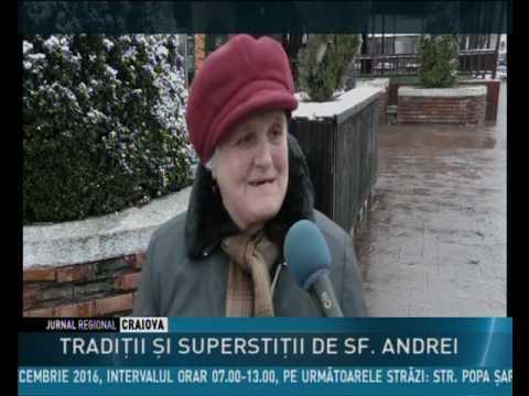 TRADIŢII ŞI SUPERSTIŢII DE SF. ANDREI