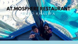Lunch in Atmosphere Restaurant, Burj Khalifa