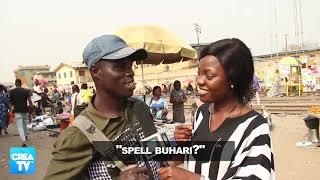 Nigerians still can't SPELL BUHARI!