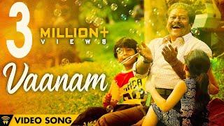 The Life Of Power Paandi - Vaanam (Official Video) | Power Paandi | Dhanush | Sean Roldan width=